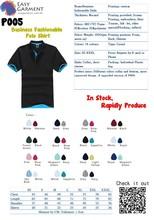 Custom Logo Design Screen Printing Embroidery Economical Blank Men and ladies Polo Shirt
