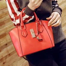 Good quality messenger bag for women/PU leather single shoulder bag