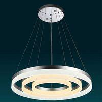 3 Rings DIY Warm white hot selling led circle pendant lighting for shopping Mall