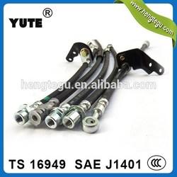 china manufacturer auto chassis prats fmvss106 brake hose / best selling automotive rubber hoses