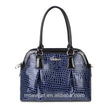 2015 fashion ladies bag 100% genuine cow leather office lady handbag