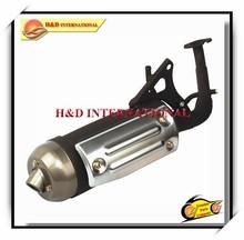 BWS100 motorcycle exhaust muffler,motorcycle exhaust pipe,scooter exhaust muffler