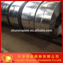 Z10 Small spangle Gavanised steel strip coil