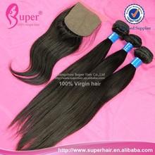 Yaki straight silk top closure xuchang top fashion hair