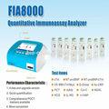 Equipos de laboratorio de bioquímica analizador--- fia8000 analizador-- fabricante chino