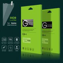 2015 Top Quality 9H 2.5D 0.3mm Nano Tech Premium Tempered Glass Screen Protector for Nokia Lumia 1020