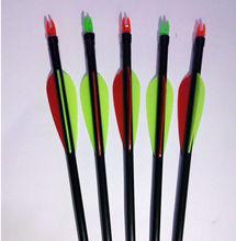 outdoor crossbow arrow, shooting carbon arrows,target arrows archery