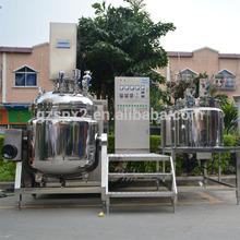spx-Top vacuum homogenizing emulsifier/mixer for cosmetic cream
