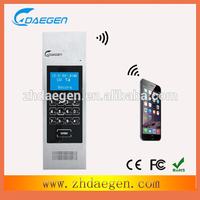 hot deals original brand product GSM wireless audio door phone intercom system