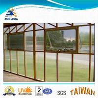 light transmission translucent polycarbonate hollow sheet for sunroom
