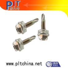50mm long self drilling roof screws with rubber washer