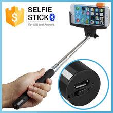 trending hot production 2015 selfie handheld stick retail packaging