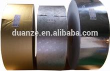 sliver and gold Laminated aluminium foil paper