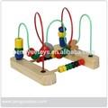 Medio- de tamaño cuentas de rack, en edad preescolar de madera juguetes educativos, py1153