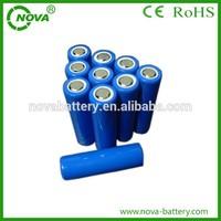 3.7v 800mah aa 14500 lithium ion battery