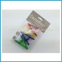 4pk stationery magnet memo clips set