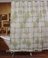 nuevo diseño de patrón de la hoja de poliéster de impresión cortina de la ducha
