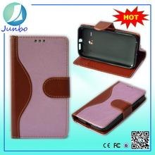 New design original wallet cover leather flip case for alcatel 7040t