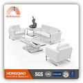 S-23 acero inoxidable fram blanco sofá de cuero de color en china