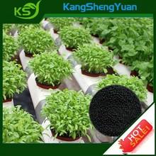 High grade water-soluble 100% organic humic fertilizer- potassium humate