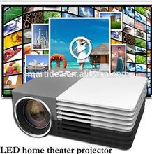2015 Newest arrival GM50 3D Mini LED Digital Projetor,Support HDMI VGA AV USB/Micro USB Ports