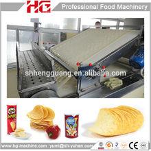 Pringles brand potato chips snack machine automatic feeding system