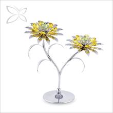 Special Sliver Plated Metal Sunflower Decorative Home Decor
