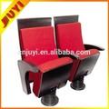 Jy-920 fábrica chinesa famosa marca ergonômico confortável tecido resistente ao fogo de madeira do braço folding cadeiras de sala de móveis