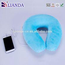 Hot sale portable speaker, wireless bluetooth headphones, soundproof foam Memory Foam U Pillow