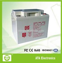 12V38AH UPS battery, Lead-acid battery, maintanence free recharge battery