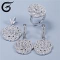Atacado set jóias 925 jóias de prata com cz