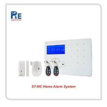 DIY Smart wireless burglar alarm system Android+IOS APP control, RFID home alarm system & alarmas de hogar