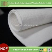 Polyester needle felt