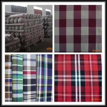 High quality 100% cotton yarn dyed fabric
