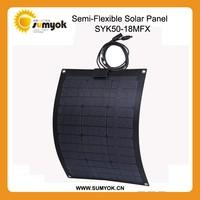 50w Flexible Solar Panel 18v PV solar panel for car roof