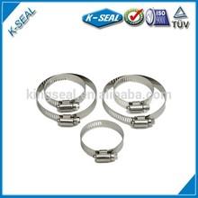 adjustable hose hoop,single ring clip,truck hose clamp KB40SS