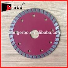 seb high quality diamond segmented type diamond saw blade with flange for cutting granite