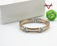 love double color cable couple bracelets love with engraving logo