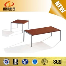 Modren coffee table in living room,solid wood end table with stainless steel leg