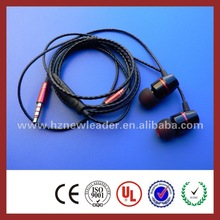 good quality in ear earphone with MIC for Nokia n73,earphone for Nokia n73