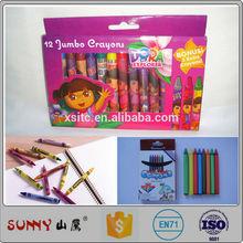 good quality art supplies non-toxic color wax crayons