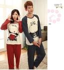 Stylish Long Sleeve Couple Lover Pajamas Sets t shirts SV014626