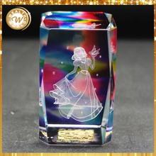 3d laser crystal arabic wedding favors