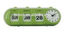Calendar Desk Clock