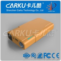 CE , ROHS , FCC Certificate 12V car portable mini battery booster power bank 1To 4 USB adapter