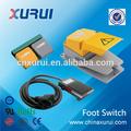 Tuv y RoHS 10A 250 v interruptor de pie de 3 polos