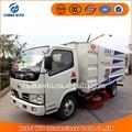Carretera barredora 4x2 luz de camiones dongfeng, precio de camión barredora de carretera, cepillos de barrendero