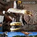 Mi- dino animatronic serpiente de goma a distancia