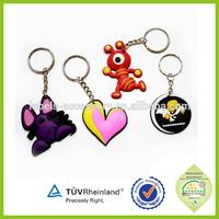 Simple and special wholesale promotional handmade unusual beautiful keyrings