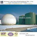 tanque de aço para o reactor cstr gerador de metano
